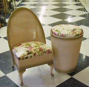 Boudoir Chair U0026 Hamper