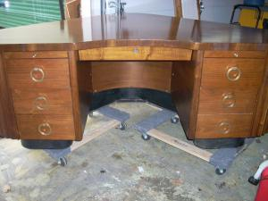 This Is A Desk Made By Fletcher Aviation And Was Completed On 10/30/1946.  It Is All Original Though The Top Has Been Refinished. This Is A Rare And  Unique ... Part 56