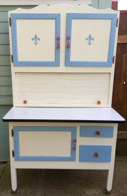 🔴Antique Kitchen Cupboard W/Hutch. Charming..early 1900u0027s Piece From An  Oregon Farmhouse. This Item Includes The Base Cupboard, Enamel Top, Hutch,  ...