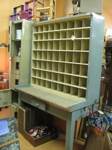 vintage postal cabinet : Judy's Space at STARS